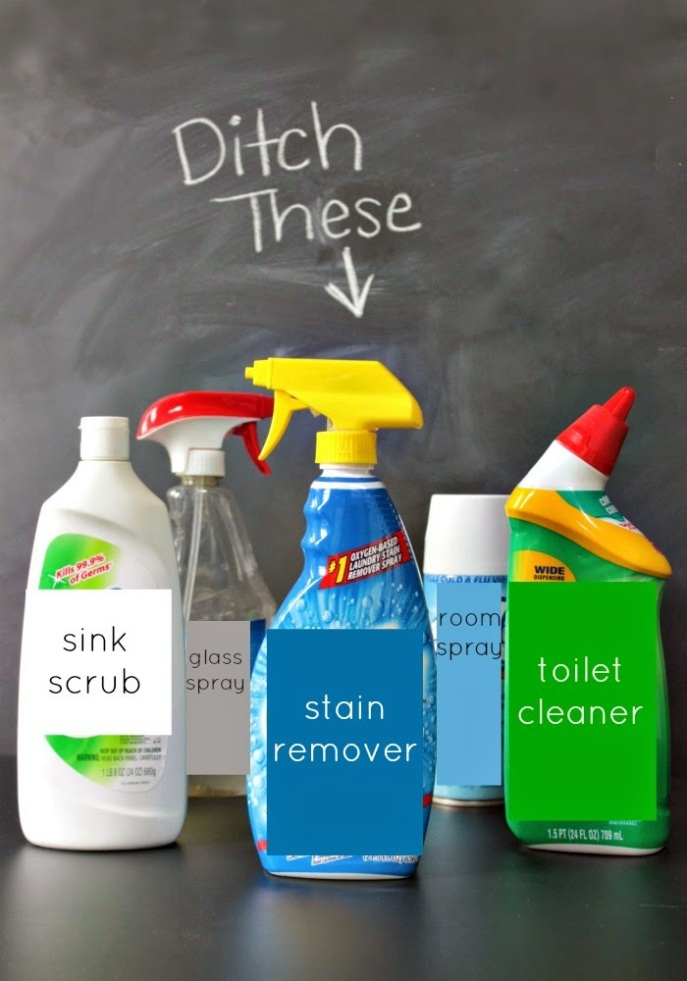 detoxing your home by ditching toxic chemical cleaners
