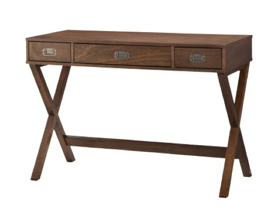 Campaign Style Wood Desk from Target