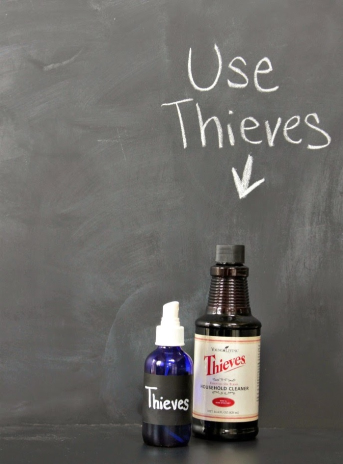 Young Living's Theives Household Cleaner