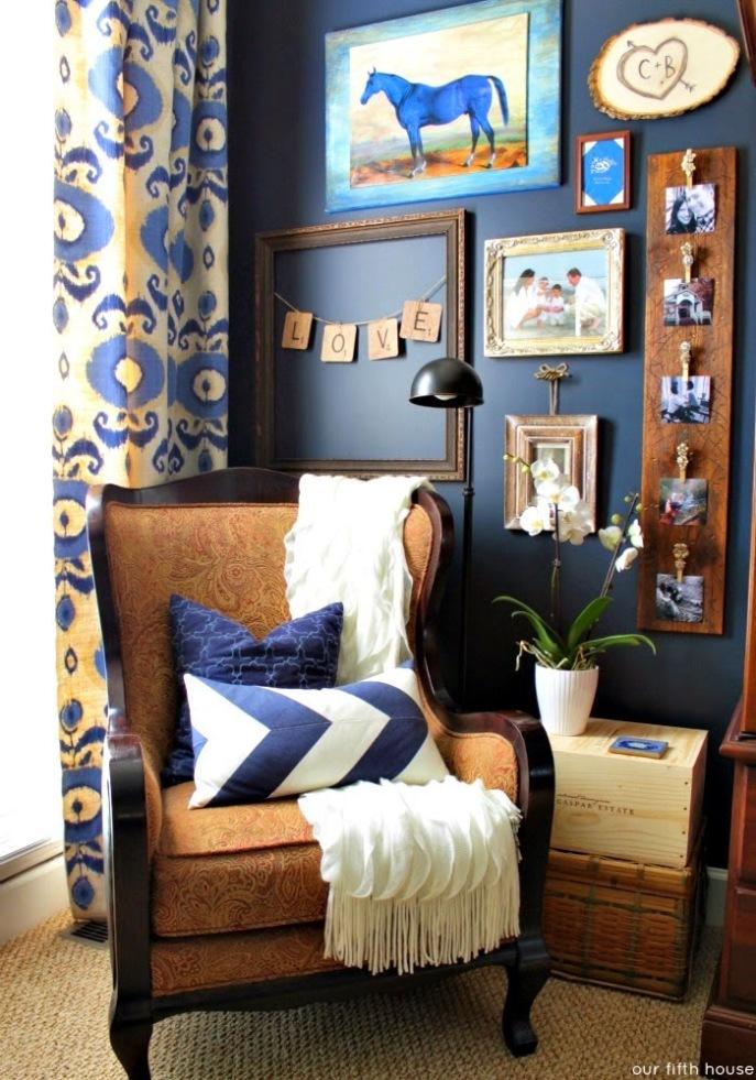 bedroom reading nook