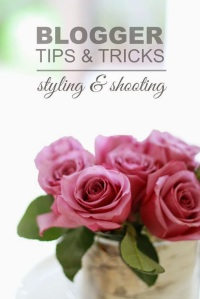 blogging tips and tricks from A Thoughtful Place - styling and shooting