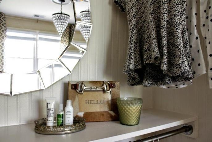 diy closet shelf