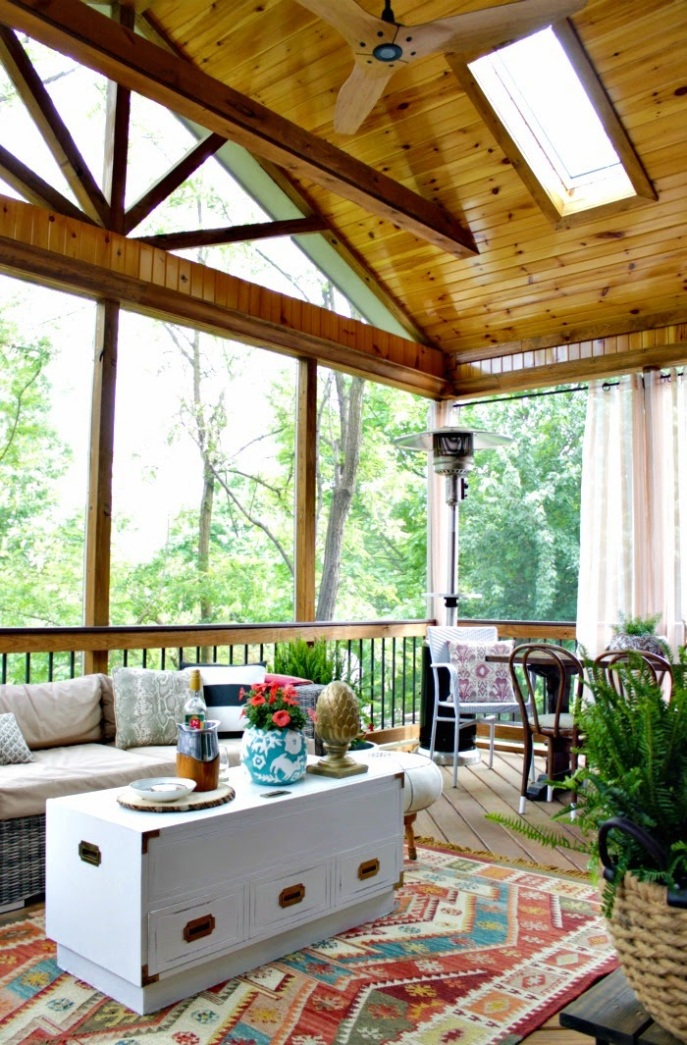 screened porch - deck