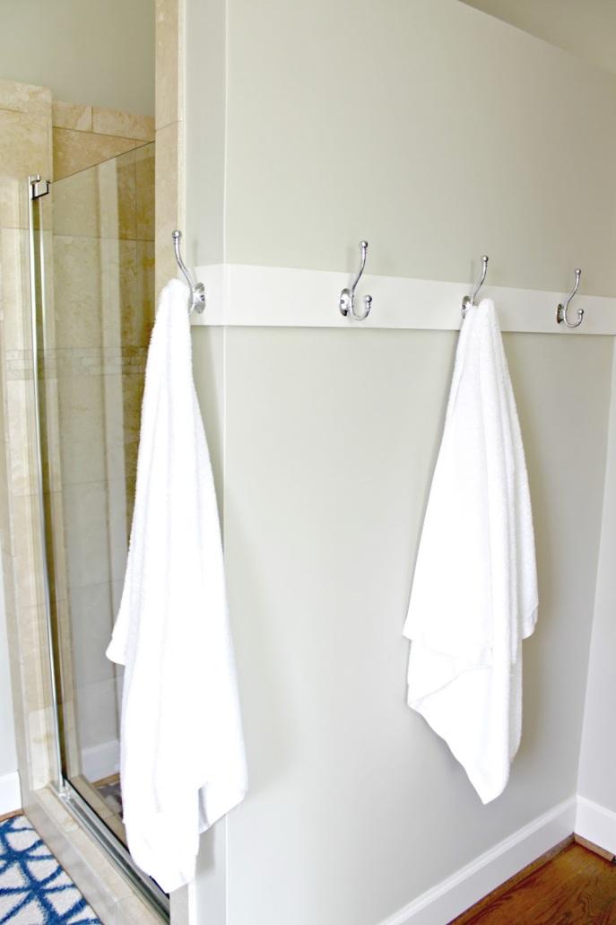 towel hook bar