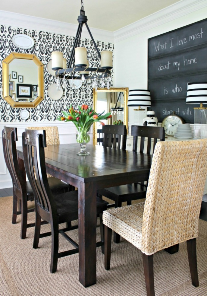 dining room makeover story