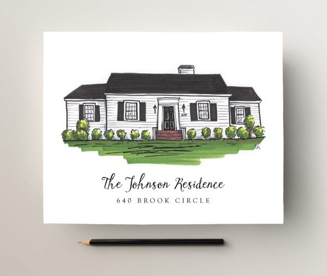 texture design co - custom house portrait giveaway