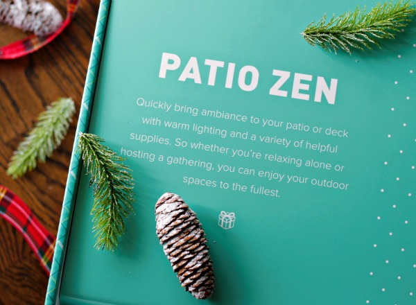 Lowe's Giftables - Patio Zen Gift Box