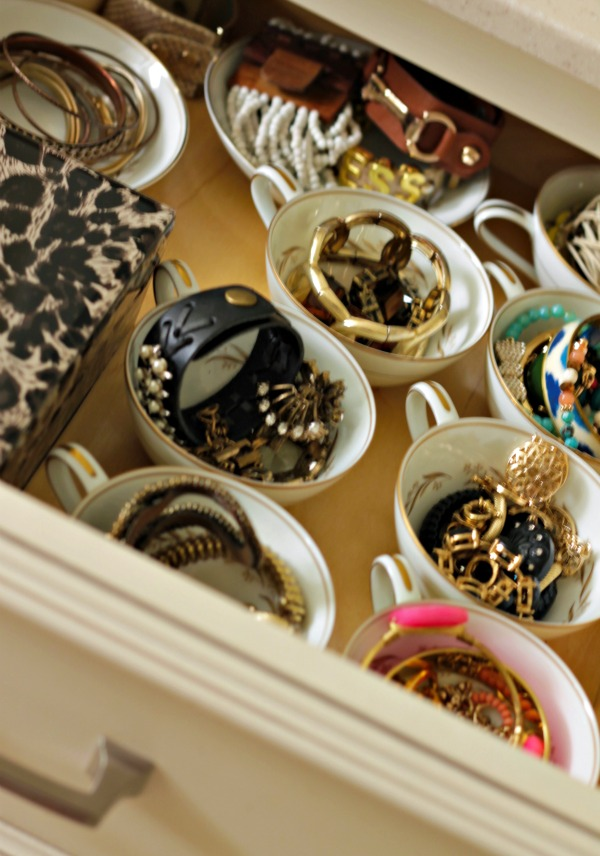 Organization Tip - Make it Pretty - You'll do a better job of keeping it neat and tidy if it looks pretty!