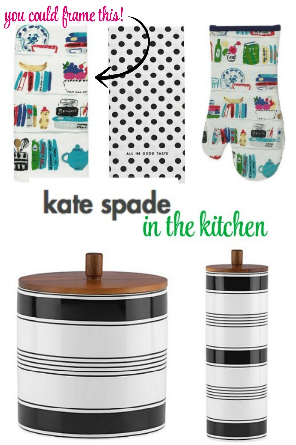 Kate Spade for the kitchen