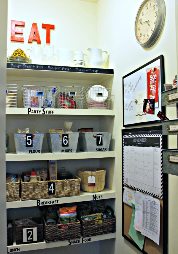 "Organizing Tip - Create Zones in your home to organize paperwork, schedules and daily reminders - A ""mom command center"""