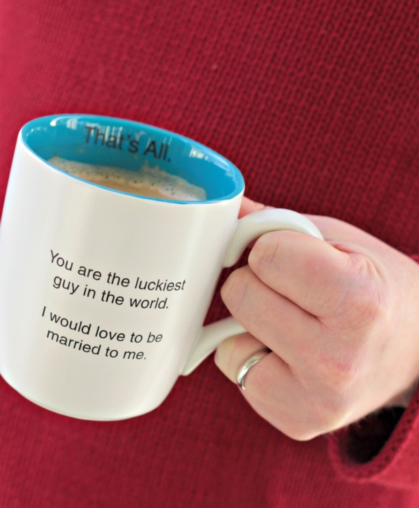 Sarcastic Funny Coffee Mug Gift Idea for Him for Valentine's Day