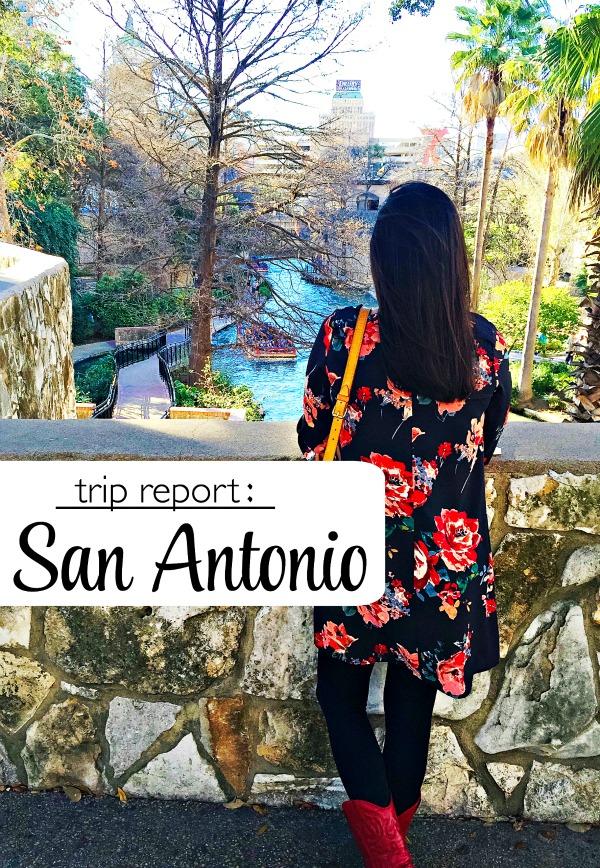 San Antonio Trip Report