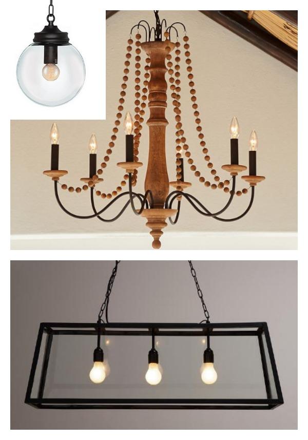 coordinating lighting in your kitchen and breakfast nook