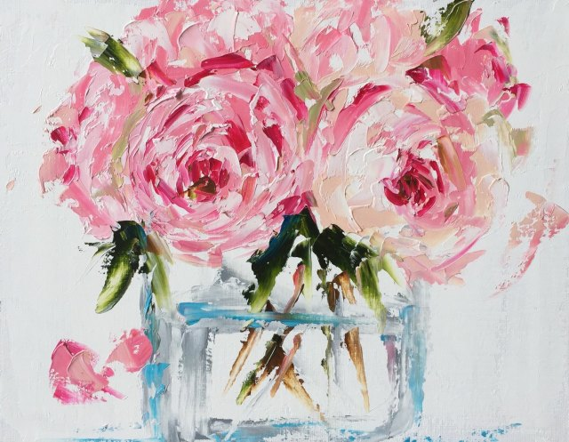 Floral painting by Emma Louise Bell