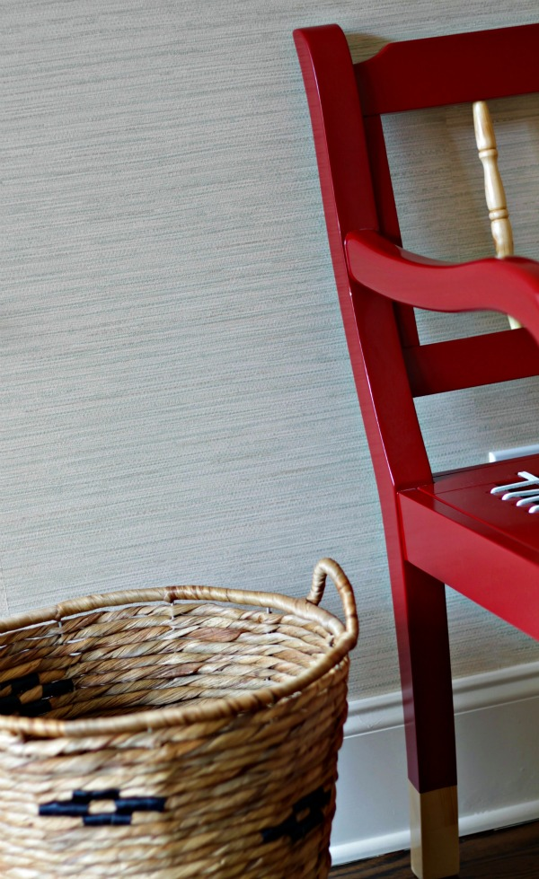 how to hang prepasted wallpaper - grasscloth